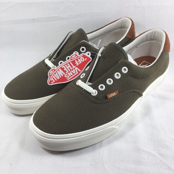 Vans era 59 shoes flannel dusty olive men s green 99a3bdb2da